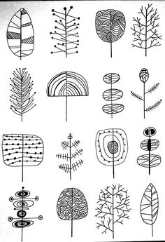 trendy drawing doodles zentangle pattern inspiration New patternsNew patterns - pattern collectionNew doodle in progress! doodle doodeling drawing teckning pattern - CarolaNew doodle in progress! Diy Painting, Drawings, Creative, Tree Illustration, Doodle Art, Pottery Painting, Zentangle Patterns, Art Journal, Doodle Drawings