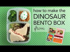Learn to Make the Dinosaur Bento Box from Everyday Bento | Wendolonia