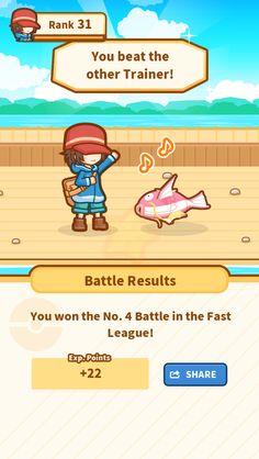 Take that! My precious Magikarp jumped 71.77 m and won! #Magikarp http://koiking.jp/r/