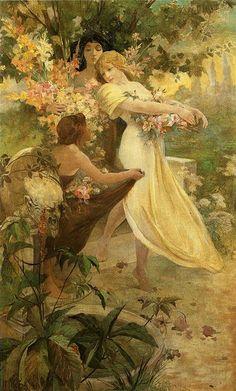 Alphonse Mucha (1860-1939) Art Nouveau