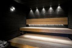 46 Sauna bath – Spa: The best ideas - Home Design Ideas Sauna House, Sauna Room, Beautiful Interior Design, Beautiful Interiors, Spa Sauna, Sauna Design, Modern Garden Design, Types Of Rooms, Steam Room