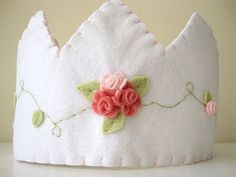 From the Kate landers events shoppe in 2010, felt rose crown!
