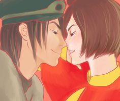 jinora and skoochy auroralynne on tumblr. WHATTT?!?!?   The shipping has begun. I don't even know....