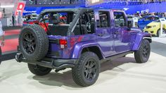 2016 Jeep Wrangler Backcountry is Xtremely Purple