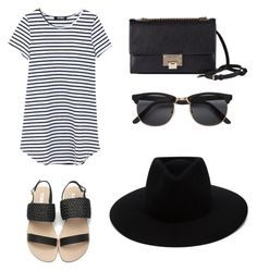 """""""Casual day"""" by mlwood2 on Polyvore featuring Jimmy Choo and rag & bone"""