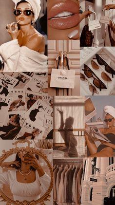 Vogue Wallpaper, Bad Girl Wallpaper, Pink Wallpaper Iphone, Iphone Background Wallpaper, Iphone Wallpaper Fashion, Background Pics, Beige Wallpaper, Cute Pastel Wallpaper, Homescreen Wallpaper