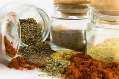 Make your own spice rubs