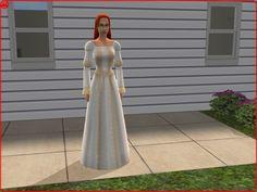 Mod The Sims - Renaissance Wedding Dress