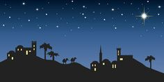 Picture of background night bethlehem for christmas stock photo, images and stock photography. Christmas Party Themes, Christmas Program, Christmas Events, Christmas Night, Christmas Nativity, Christmas Art, Christmas On A Budget, Christmas Wreaths, Danish Christmas
