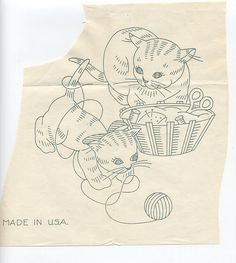 s177 cats and yarn by two junebugs, via Flickr