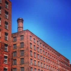 Mills in Ancoats, Manchester, UK