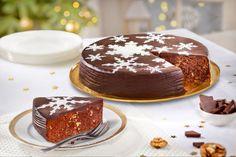 Bizcocho doble chocolate para Navidad ¡delicioso!