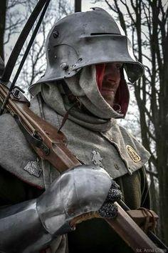 Medieval Life, Medieval Knight, Medieval Armor, Medieval Fantasy, Larp, Back Up, Armadura Medieval, Landsknecht, Knight Armor
