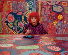 Yayoi Kusama's signature polka dots are on view at David Zwirner for her highly anticipated New York return