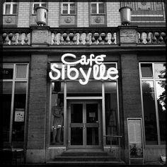 Café Sibylle - Karl Marx Allee, Friedrichsein