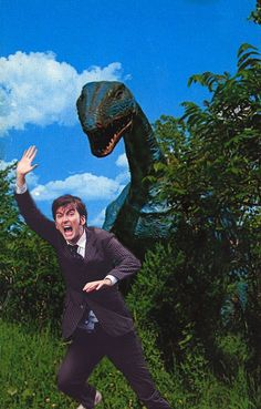 David Tennant In Places He Shouldn't Be!: Photo