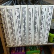 Data Binder for each student at my fluency station