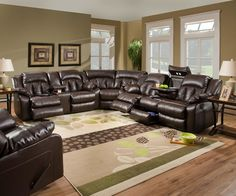 3pc Oversized Sectional - MADE IN USA