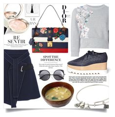 """""""Simple Outfit #227"""" by rizkafathi ❤ liked on Polyvore featuring Philipp Plein, Carven, Alex and Ani, By Terry, STELLA McCARTNEY, Industrie, Wood Wood, Christian Dior and polyvoreeditorial"""