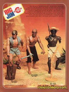 A Spanish Catalog for the Mattel Big Jim Toy Line 1970s Toys, Retro Toys, Vintage Toys, Gi Joe, Action Toys, Action Figures, Big Jim, Nostalgia, Modern Toys