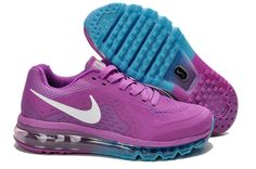 Purple Red Moon White Nike Air Max 2014 Women\\u0026#39;s Running