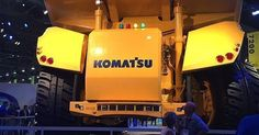 Look mom! No hands! Driverless technology from Komatsu. #minexpo2016 #minexpo16 #mine16 #mining #minexpo Photography http://ift.tt/1OtDdVa