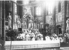 Helmond: Paasmis in de Heilig Hartkerk in de Veestraat. Fotograaf onbekend.