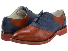 Cole Haan AIR FRANKLIN CAP SADDLE OXFORDS