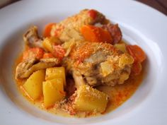 Food Friday on kleinstyle.com healthy recipes for kids and the whole family Galinha Portuguesa – Portuguese Chicken