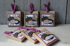 Rittersport Verpackung Eichel, Bild1, gebastelt mit Produkten von Stampin' Up!