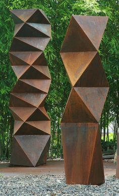 """Discover even more information on """"metal art projects"""". Have a look at our site. Geometric Sculpture, Metal Art Sculpture, Steel Sculpture, Outdoor Sculpture, Modern Sculpture, Outdoor Art, Abstract Sculpture, Bronze Sculpture, Garden Sculpture Art"""