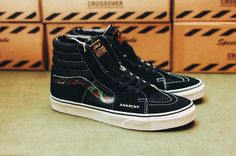 4c61f76ec3 SBTG x COVER by CROSSOVER Customizes the Vans Old Skool   Sk8-Hi For