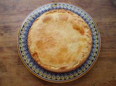 """Easter """"pizza  rustica"""" we will be making  this year! A recipe I have made many times with my mother in law years ago.."""