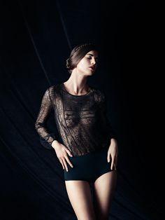 Zoe Aggeliki for ERES was shot by Billy Kidd. Lingerie For Men d1c78b4da