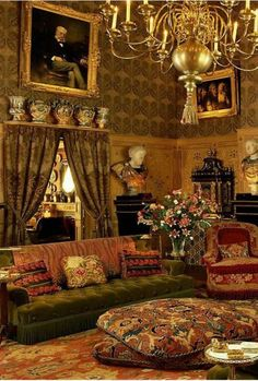Photos of the Rudolf Nureyev s apartment of the chic interior the opposite of the Louvre Dance Buzz Victorian Interiors, Victorian Decor, Victorian Homes, Victorian Architecture, Nureyev, Parisian Apartment, Architectural Digest, Bohemian Decor, Room Decor