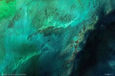 The most beautiful images of Google Earth into a single collection on Earth View