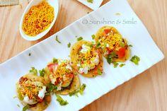 Papri Chaat – Indian Street Food treat – Guest Post for Shulie @ Food Wanderings