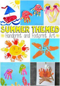 Summer-Themed-Handprint-and-Footprint-Art.jpg 700×1.000 piksel
