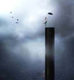 Crete-born photographer George Christakis is a modern day Surrealist. His visual art, generally photo manipulations, includes a collection of haunting Surrealism Photography, Conceptual Photography, Conceptual Art, Art Photography, Surreal Photos, Surreal Art, Photomontage, Photo D Art, Art Sculpture