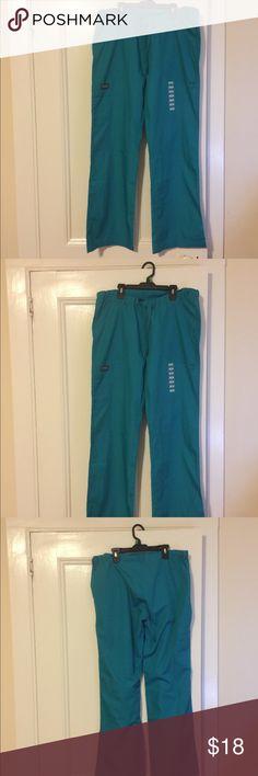 97df9ffee2e Women teal Cherokee uniform pants Cherokee uniform pants Cherokee Pants  Straight Leg
