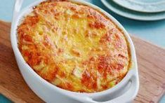 Food Network Kitchen staffers share recipes for cheese souffle, chocolate pudding and other family favorites. Cheese Souffle, Souffle Dish, Souffle Recipes, Food Technology, Recipe Today, Greek Recipes, Cheese Recipes, Casserole Recipes, Food Network Recipes