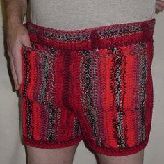 Free Crochet Pattern Mens Underwear : Crochet For Men on Pinterest Pattern Library, Sweater ...