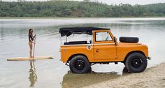 Land Rover Series 2a... Dare to try something new before bidding adieu to the summer   Classic Driver Magazine