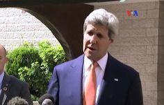 Secretario de Estado John Kerry trabaja por una tregua en Gaza