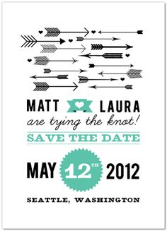 Simple and Classic Rustic Save the Dates