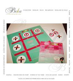 Detalles personalizados, Regalos para tus invitados! el juego de #gato solo con www.bo-kasociales.com  #juegos #gato #personalizado #ralph demoledor #vanelope #regalos #fiesta infantil #regalo original #bolos #bolos fiesta #juegos utiles