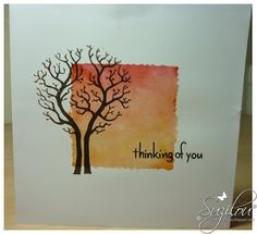 Hand Made Cards - Clarity Stamps