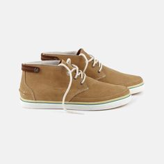 Lacoste Clavel Men's Shoes: July New Desert Boots Inspired Casual Urban Look With Contrasted Colours