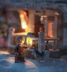 Lego Humor, Lego Winter Village, Lego Creative, Lego Pictures, Lego Man, Lego Mecha, Lego Worlds, Lego Photography, Lego Models