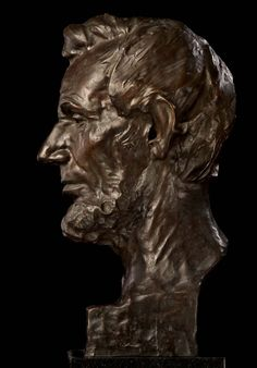 Gutzon Borgulm- Bronze on Granite Base